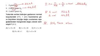 TYT Kimya Full Çeken Soru Bankası - Bölüm 8 - Mavi Sorular - Test 3 - Soru 5
