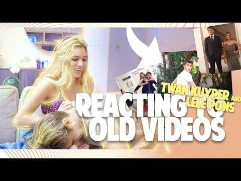 Reacting to old Vine's w/ LELE PONS