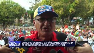 Alcalde Alberto Mora rindió cuentas al Municipio Mariño 25-03-15