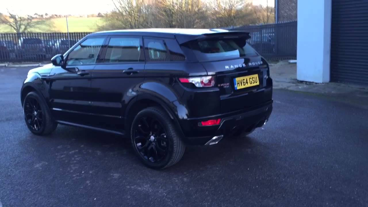 Range Rover Evoque Dynamic Black Edition  YouTube