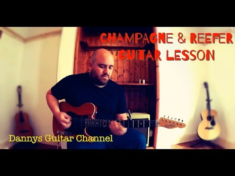 Champagne & Reefer - Chicago Blues Guitar Lesson - Muddy Waters