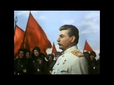 Stalin Era Propaganda: Stalin's Fictionalized Arrival in Berlin in