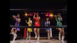 プロレスリングファイブ4thで行われたキラポジョ(東京)vsMAG...