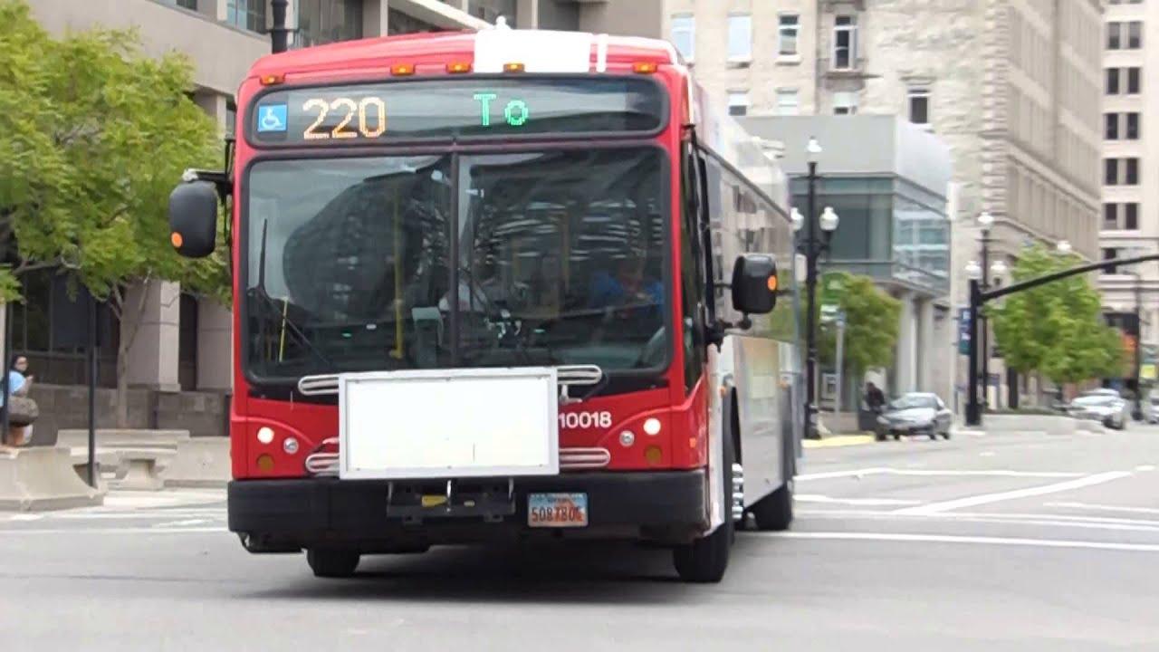 Uta Bus Gillig Brt Bus 10018 On The 220 In Slc Ut Youtube