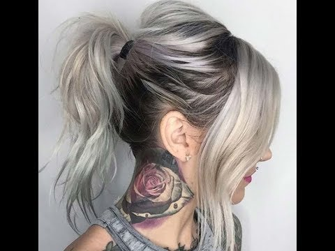 Silver Hair Color Ideas and Tips for Dyeing, Maintaining ...