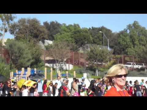 Fay Elementary School Halloween Parade part 2 10/31/11.
