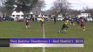 Inter Soccer Academy (West Babylon Thundercats 1   Real Madrid 1 UB11