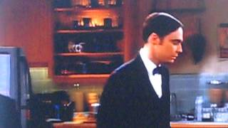 The big bang theory sheldon complains about howards present