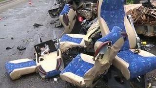 Красноярский край: водитель, попавший в аварию, не пострадал