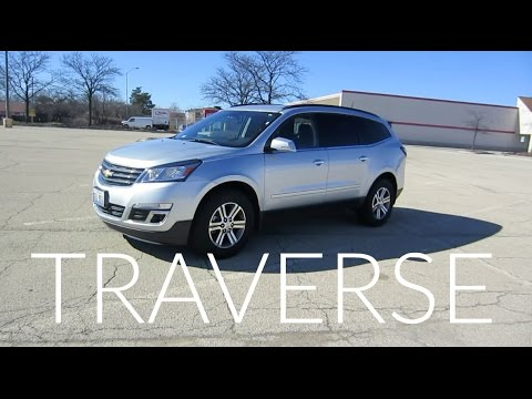 2017 Chevy Traverse Premier SUV   Full Rental Car Review and Test Drive