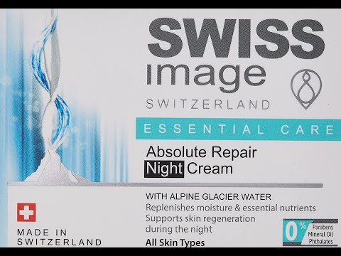 Swiss Image Absolute Repair Night Cream!