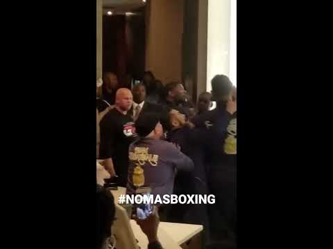 Deontay Wilder, Dominic Breazeale involved in hotel lobby fight