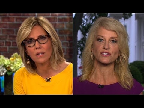 Conway defends Trump's Russia response
