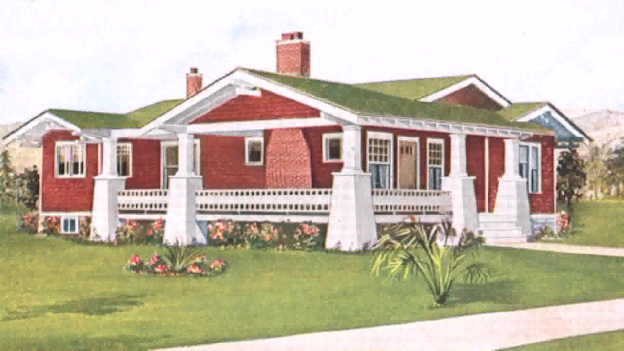 Craftsman Style House Colors YouTube - Craftsman style home exteriors of houses colors