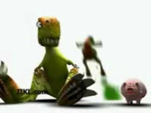 Dinosaur, Lizard, and Pig farting contest