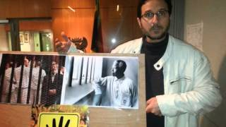 Mandela & Morsi - South African Embassy in Brussels Dec 6th 2013
