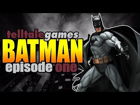 "Telltale Games ""BATMAN"" Episode One: REALM OF SHADOWS (FULL GAMEPLAY EPISODE)"