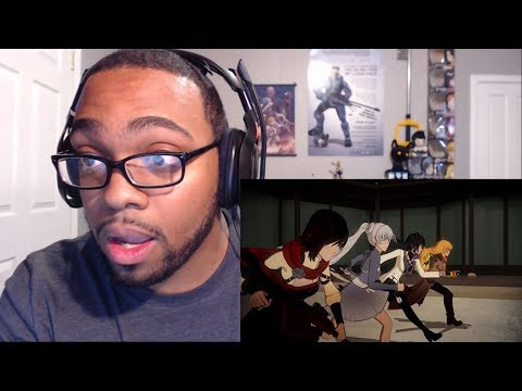 RWBY Volume 5 Intro Reaction - Quickly Becoming My Favorite!