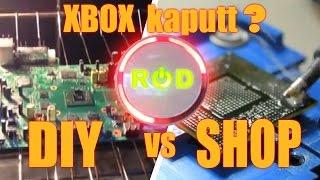 XBOX kaputt? RROD - Red Ring Of Doom reparieren - Geht das wirklich ???