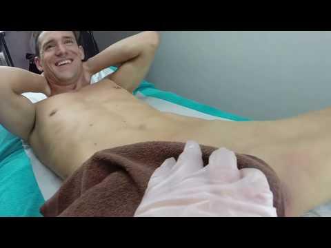 Brazilian Wax Video Full Procedure Male