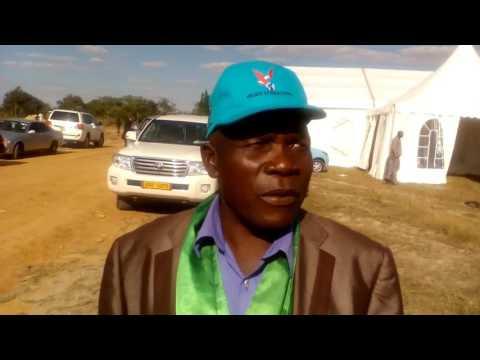 HRE-BB Road Ground Breaking Ceremony:  Lion Zingoni