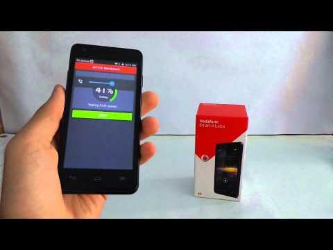 Vodafone Smart 4 Turbo AnTuTu benchmark video