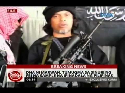 24 Oras: Kaliwang hintuturo ng sinasabing bangkay ni Marwan, kitang putol sa larawan