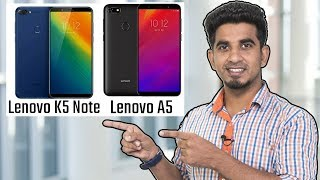 Lenovo Z5, Lenovo K5 Note & Lenovo A5: Review of specification! [Hindi हिन्दी]