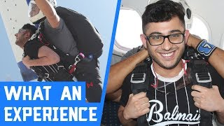 FUNNIEST SKYDIVING EXPERIENCE   APEX LEGENDS HIGHLIGHT