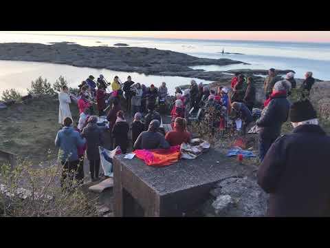 Kalvøysund festning påskemorgen 2019