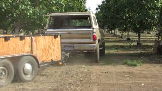 Walnut Harvest At Warfield Farms
