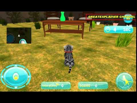 Cute Cat Simulator 3d Game Play Movie Cat Game For Girl 猫