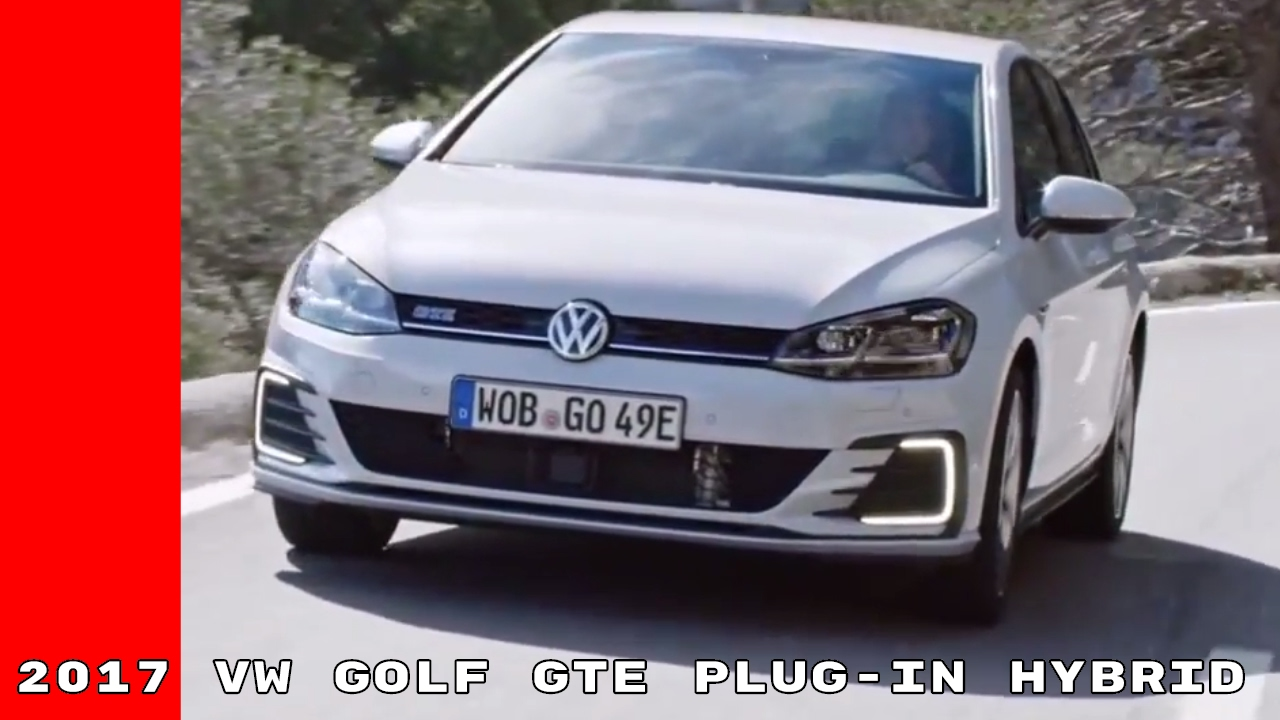 2017 vw golf gte plug in hybrid test drive interior youtube. Black Bedroom Furniture Sets. Home Design Ideas
