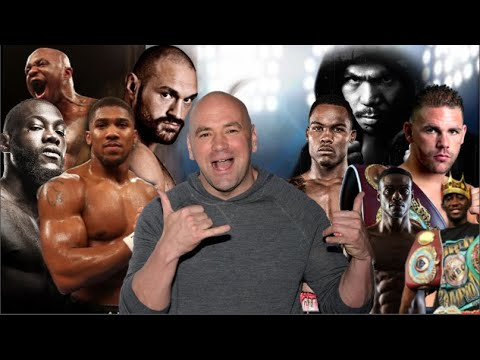 DANA WHITE REFUSES TO RECOGNISE SANCTIONING BODIES WBC, WBA, IBF & WBO WHEN HE ENTERS BOXING!!