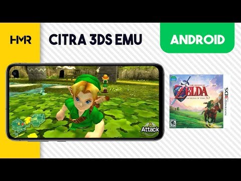 Android Citra 3DS - Zelda Ocarina of Time 3D - YouTube