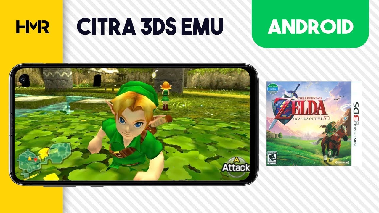 Android Citra 3DS - Zelda Ocarina of Time 3D