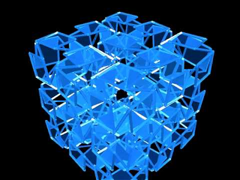1-Deployable Structure - expanding cubes
