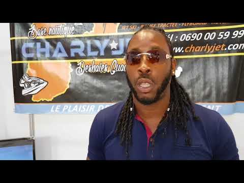 Charly Jet au salon du tourisme et loisirs de Guadeloupe