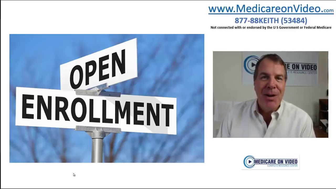 Medicare Open Enrollment 2018 What To Do What Not To Do