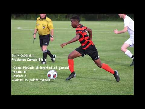Moussa Bamba first season at Suny Cobleskill