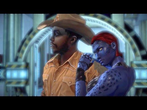 John Wraith Impregnates Mystique: Nightcrawler's Father? (X-Men Origins: Wolverine   Logan & Raven)