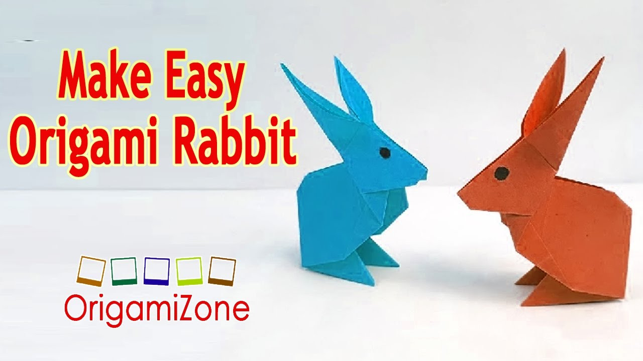easiest way to make an origami rabbit how to make a