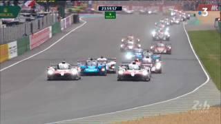 24 Heures du Mans 2018 :  On vous refait le film du début de course