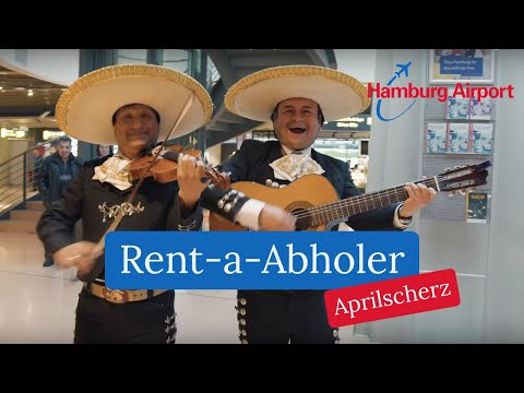 Rent-a-Abholer - Aprilscherz am Hamburg Airport
