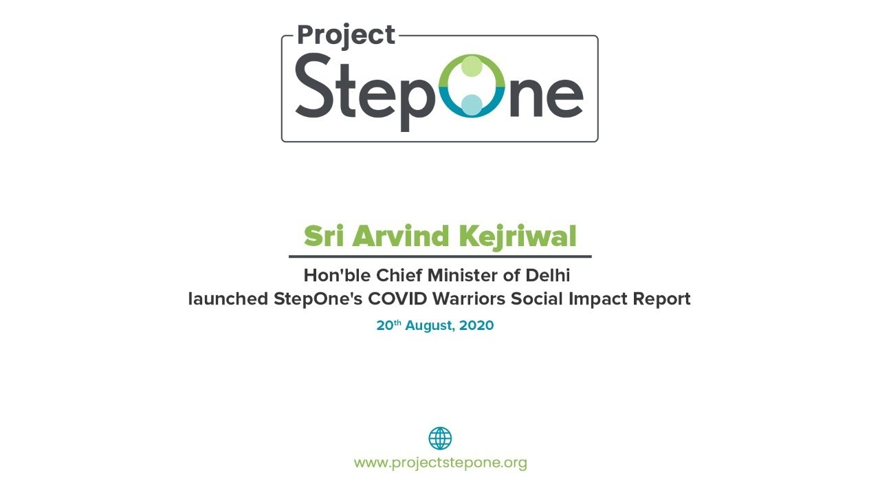 Hon'ble CM Delhi Arvind Kejriwal launches COVID Warriors Social Impact Report on 20th August 2020