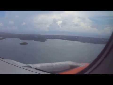 Plane Landing (Puerto Princesa Airport)