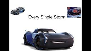 Disney Cars Every Single Jackson Storm Diecast (So Far, as of July 2018)