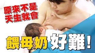 【蔡阿嘎新手爸媽日記#22】吸母奶不是天生就會,不簡單啊!