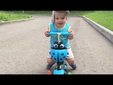 ОБЗОР САМОКАТА SCOOTER 5 In 1 ДЛЯ ДЕТЕЙ / SCOOTER REVIEW FOR CHILDREN