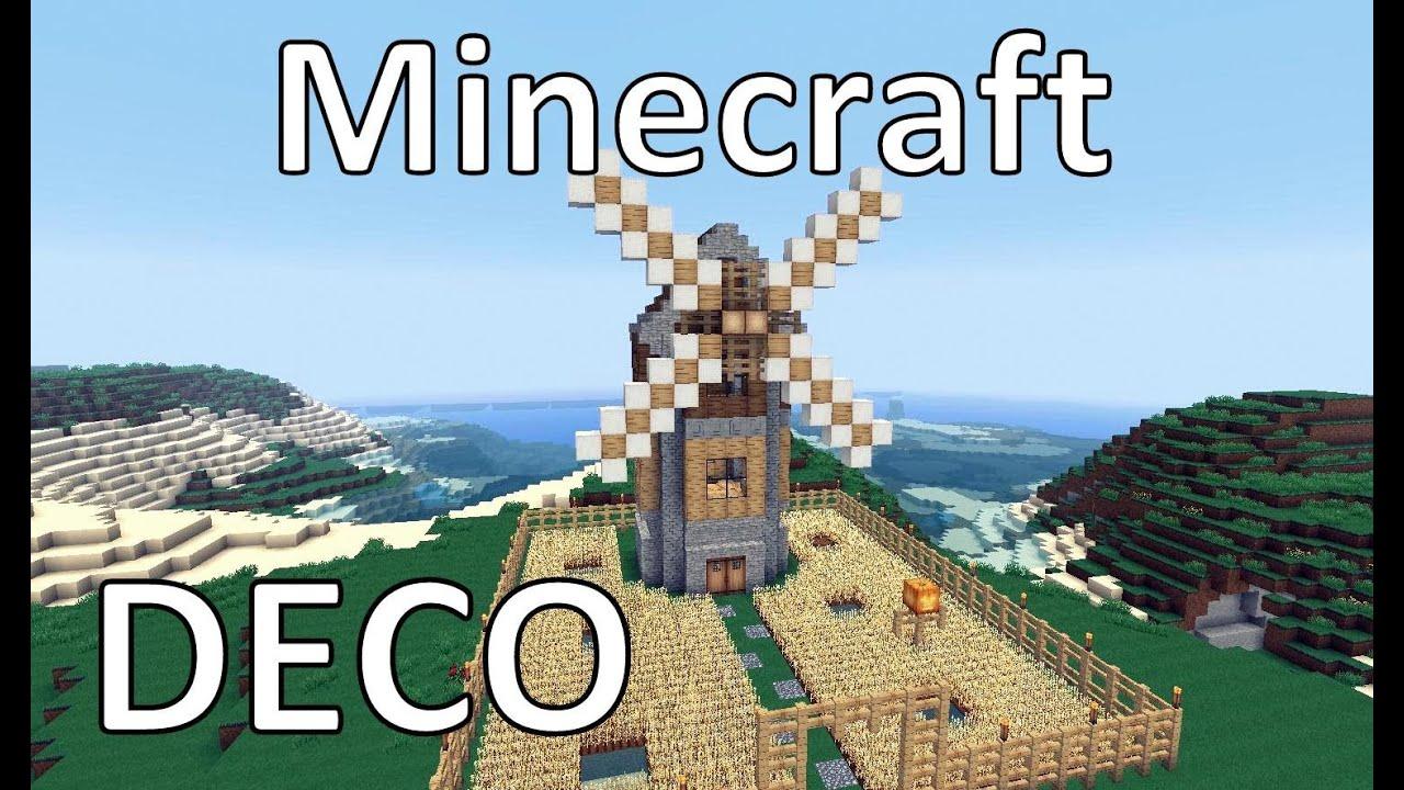 Minecraft comment cr er un moulin youtube - Comment creer un chateau dans minecraft ...